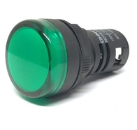 Chint Indicator Panel Lamp 22.5mm Multi Chip LED AC/DC Green ND16GREEN