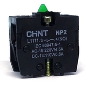 Chint N/O Contact Block Base Mount NP2-L1111