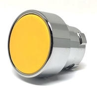 Chint Push Button 22.5mm Yellow With Guard NP2-BA/Y