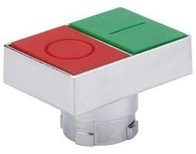 Chint Twin Push Button Illuminated Red/Green Operator NP2-BW844