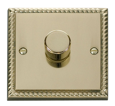 Scolmore Click Deco Georgian Style Dimmer 1 Gang 400W GCBR140