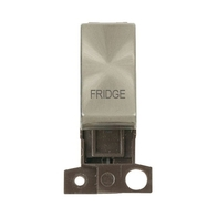 Click Deco Minigrid  20A DP Brushed Steel Grid Module