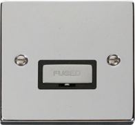 Scolmore Click Deco polished Chrome Ingot Unswitched Spur VPCH750BK