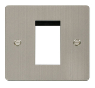 Click Define Flat Plate Stainless Steel Single Euro Plate FPSS310