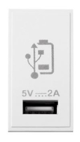 Scolmore Click New Media 5V 2A USB Charger White MM515WH
