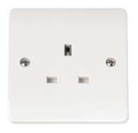 Click Scolmore Mode 1gang 13A Socket Outlet CMA030