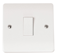 Click Scolmore Mode 1gang 1way Light Switch CMA010
