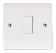 Click Scolmore Mode 1gang 2way Light Switch CMA011