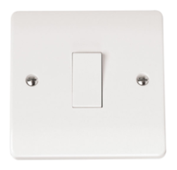 Click Scolmore Mode 1gang Intermediate Light Switch CMA025