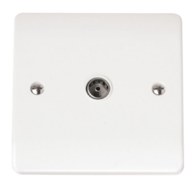 Click Scolmore Mode Single Non- Isolated Coaxial socket CMA065