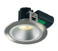 Collingwood H5 500 Asymmetric Low Glare LED Downlight Brushed Steel DL238BS