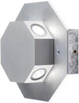 Collingwood LED Rotatable Octagonal Wall Light OCTO LED NW