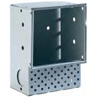 Collingwood LED Square Wall Light Steel Wall Box WL050 WALLBOX