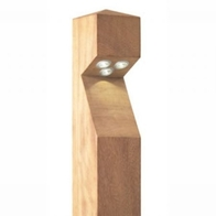 Collingwood LED Wooden Bollard  BOLLEDMAINS