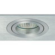 Collingwood Square Tilt Downlight Brushed Aluminium LV120