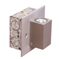 Collingwood Up and Down Mini Cube Wall Light MC025 S