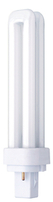 Compact Fluorescent Lamp 13w 2Pin G24d Double Turn Cool White