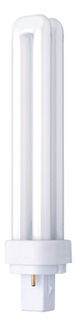 Compact Fluorescent Lamp 26w 2Pin G24d Double Turn Cool White