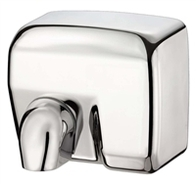 Contemporary Automatic Hand Dryer 2400w Brushed Stainless Steel DM2400S
