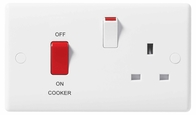 Cooker Control Unit with 13A Socket 871