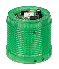 Delta DIS7222 24V DC 70mm GREEN Tower Indicator