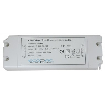 Dimmable LED Driver 12v 25W - ELED-25-12T image 1