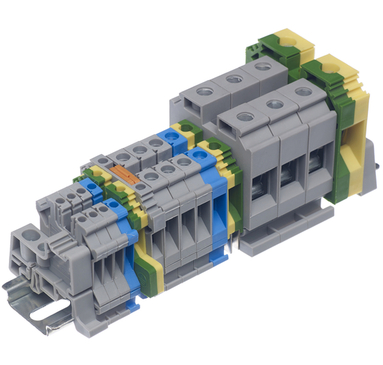 Din Rail Terminal 10mm Earth Terminal CGT10U