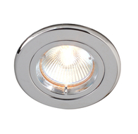 Downlight 240V Tilt Polished Chrome Robus R208SC-03