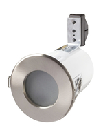 Fire Rated Shower Downlights LV MR16 12V Brushed Chrome RFS10165-13