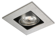 Firstlight 1 Light Cube 1500BS Brushed Steel