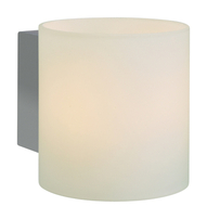 Firstlight Alto Single Wall Light Chrome with Opal Glass 3326CH