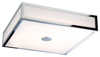 Firstlight Aruba LED Flush Fitting Chrome with Polycarbonate Diffuser 3463CH