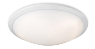 Firstlight Ascot Flush Fitting 8657WH White with Polycarbonate Diffuser