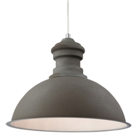 Firstlight Aztec Pendant Rough Sand Concrete 2307CN
