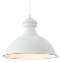 Firstlight Aztec Pendant Rough Sand White 2307WH