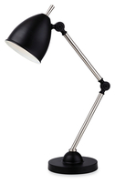 Firstlight Bally Table Lamp 2310BK Black