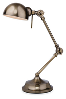 Firstlight Beau Table Lamp 2305AB Antique Brass