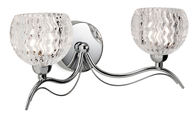 Firstlight Blanche Wall Light 8618CH 2 Light