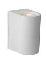 Firstlight Carlos 2 Light LED Plaster Wall Light White 4901