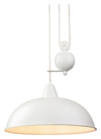 Firstlight Century Rise & Fall Pendant White 2309WH
