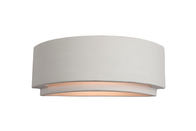 Firstlight Ceramic Wall Light C345UN Unglazed
