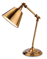 Firstlight Clarion Table Lamp Antique Gold 4890AG