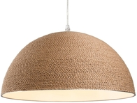 Firstlight Coast Pendant Brown Rope 3440