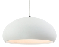 Firstlight Costa Pendant Rough Sand White 2308WH