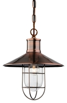Firstlight Crescent Pendant Antique Copper 2306AC
