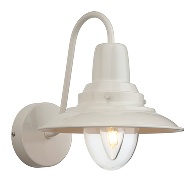 Firstlight Fisherman Wall Light 8686CR Cream with Clear Glass image 1