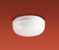 Firstlight Finelite Flush Fitting 2092WH White Base with Opal Diffuser