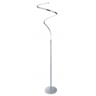 Firstlight Gemini LED Floor Lamp Polished Chrome Finish 4880CH