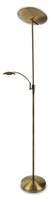 Firstlight Horizon LED Floor Lamp Antique Brass 7659AB