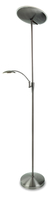 Firstlight Horizon LED Floor Lamp Brushed Steel 7659BS